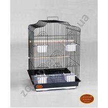 Золотая Клетка - большая клетка для средних птиц. Модель 607