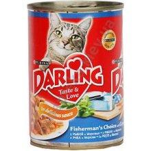 Darling - Корм Дарлинг для взрослых кошек с рыбой и морковью в соусе