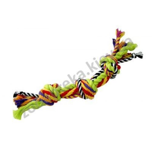 Petstages Multi Rope Chew - игрушка Петстейджес для собак цветной канат с узлами