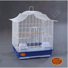 Золотая Клетка - большая клетка для средних птиц Модель 712