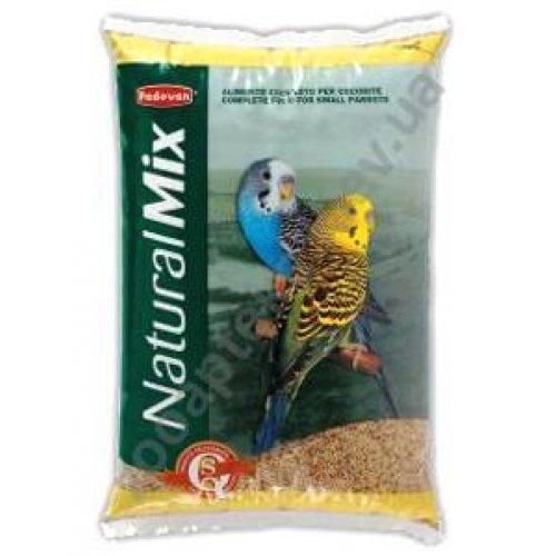 Padovan NaturalMix Cocorite - основной корм Падован для волнистых попугайчиков