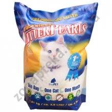 Crystal Pearls TrackLess - кварцевый наполнитель Кристал Перлс для туалетов кошек