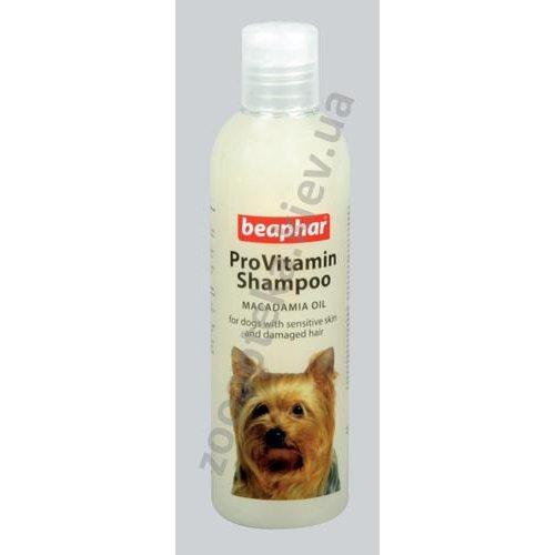 Beaphar Pro VitamIn Shampoo Macadamia for Dogs - мягкий, провитаминный шампунь Бифар