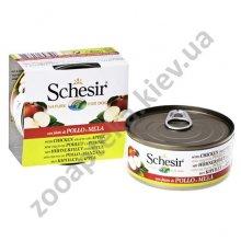 Schesir Chicken Аpple - консервы Шезир курица с яблоком для собак