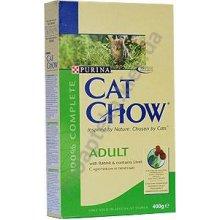 Cat Chow Adult with Rabbit - корм Кэт Чау корм для взрослых кошек с кроликом и печенью