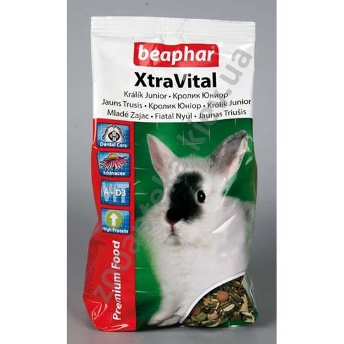 Beaphar Xtra Vital Rabbit Junior Food - корм Бифар для крольчат
