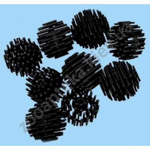 Resun Bio Balls - фільтрувальний матеріал Ресан Біо Кулі, діам. 40 мм, чорні