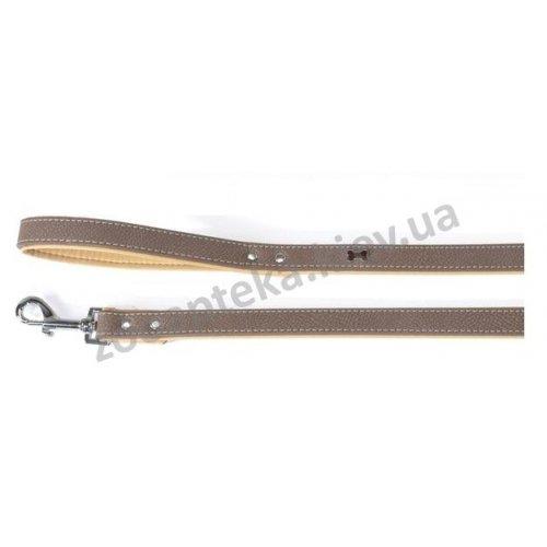 Camon Timber - Поводок для собак Камон с украшением, коричневый
