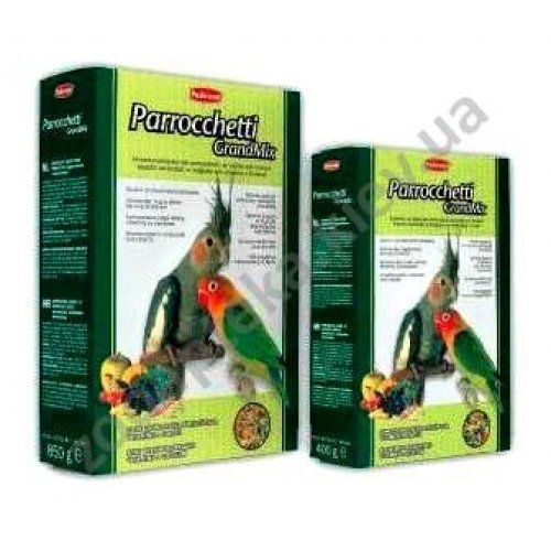 Padovan GrandMix Parrochetti - корм Падован для средних попугаев