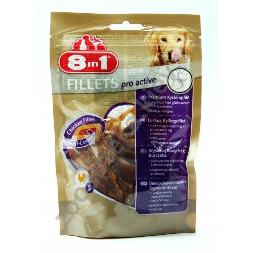 8 in 1 Fillets Pro Active - куриное филе 8 в 1 для придания жизненной энергии