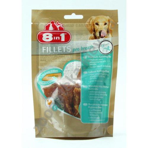 8 in 1 Fillets Pro Breath - косточка с куриным филе 8 в 1 для свежего дыхания