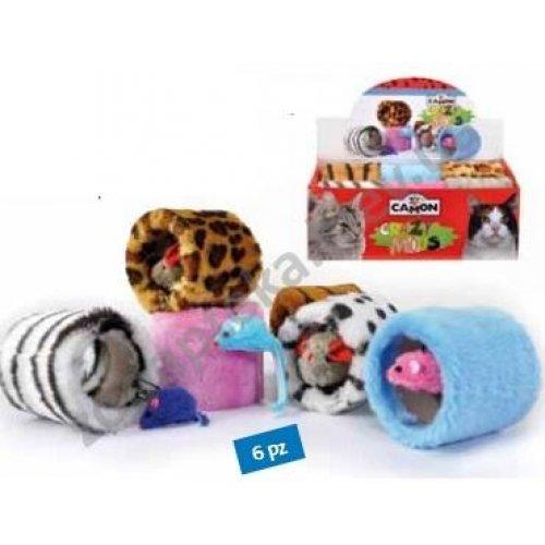 Camon - игрушка Камон бочонок плюшевый с мышкой