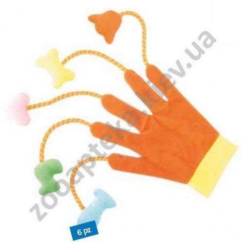 Camon - перчатка Камон цветная с плюшевыми игрушками