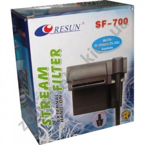 Resun ClearMax SF-700 - навесной фильтр Ресан, 630 л/ч, для аквариума до 150 л