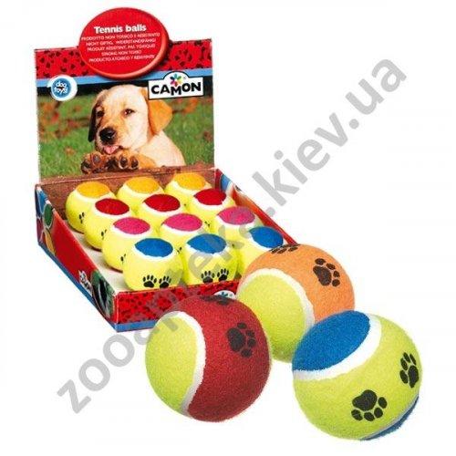 Camon - мяч теннисный Камон для собак, разноцветный