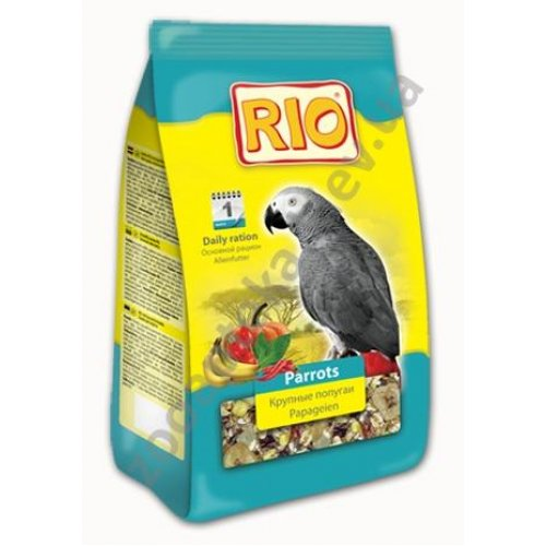 Rio Parrots - корм Рио для крупных попугаев