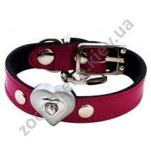 ShiBoo Heart-to-Heart Clear - ошейник ШиБу Сердца для собак