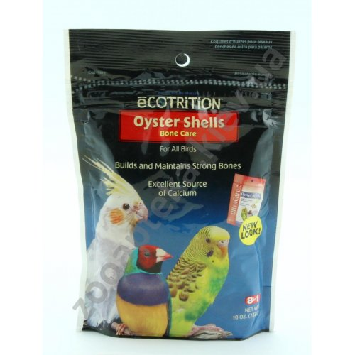8 in 1 Oyster Shells - добавка для птиц 8 в 1 дробленые устричные раковины
