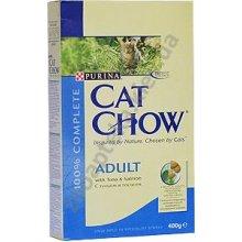 Cat Chow Adult with tuna and salmon - корм Кэт Чау для взрослых кошек, с тунцом и лососем