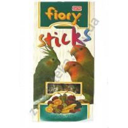 Fiory Sticks - палочки Фиори с фруктами для средних длиннохвостых попугаев