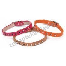 Coastal - Коастал Fashion Leather Collar with Spots Ошейник Кожаный с заклепками