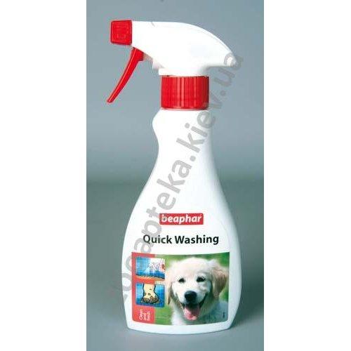 Beaphar Quick Wash - экспресс-шампунь Бифар для животных