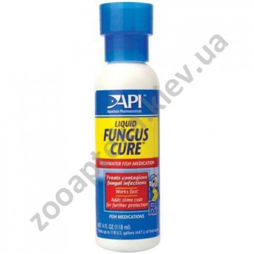 API Fungus Cure Liquid - противогрибковый препарат АПИ Фунгус для пресноводных рыб