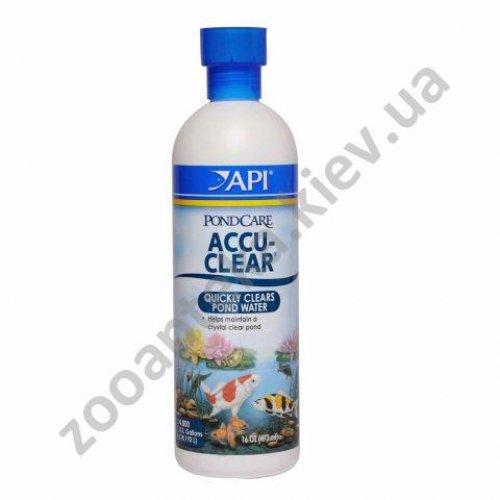 API Pond Care Accu-Clear - средство АПИ для очистки пруда от мути и взвеси