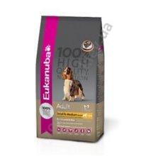Eukanuba Adult & Medium Lamb and Rice - корм Эукануба для взрослых собак мелких и средних пород