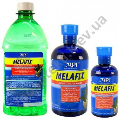 API Melafix - препарат Апи Мелафикс против бактерий и грибковых инфекций рыб