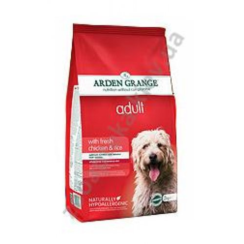 Arden Grange Adult Dog Chicken & Rice - корм Арден Гранж с курицей и рисом
