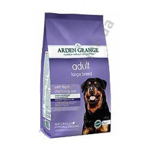 Arden Grange Adult Dog Large Breed - корм Арден Гранж с курицей и рисом для крупных пород