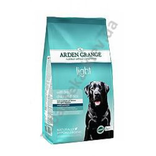 Arden Grange Adult Dog Light - низкокалорийный корм Арден Гранж с курицей и рисом