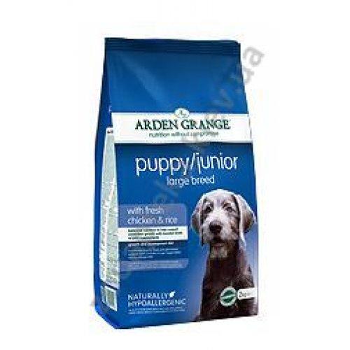 Arden Grange Puppy/Junior Large Breed - корм Арден Гранж для щенков крупных пород