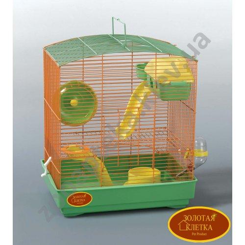 Золотая Клетка - клетка для маленьких грызунов Модель B233