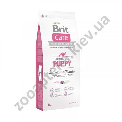 Brit Care Puppy Salmon & Potato - корм Брит для щенков и молодых собак всех пород
