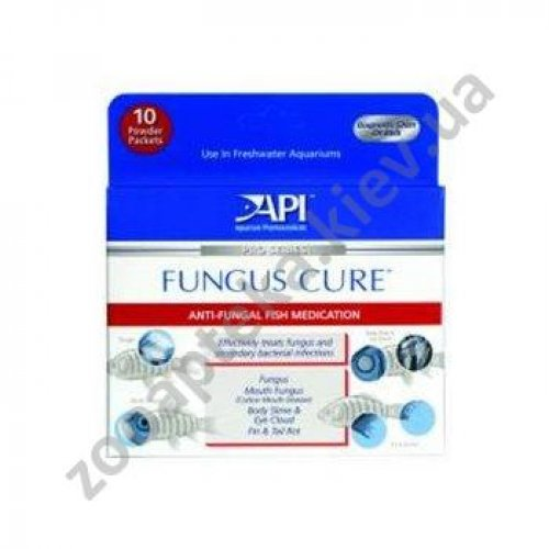 API Fungus Cure Powder Packets - препарат АПИ против бактерий и грибков