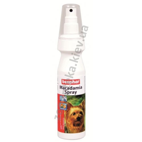 Beaphar Maсadamia Spray - спрей Бифар с маслом австралийского ореха для собак