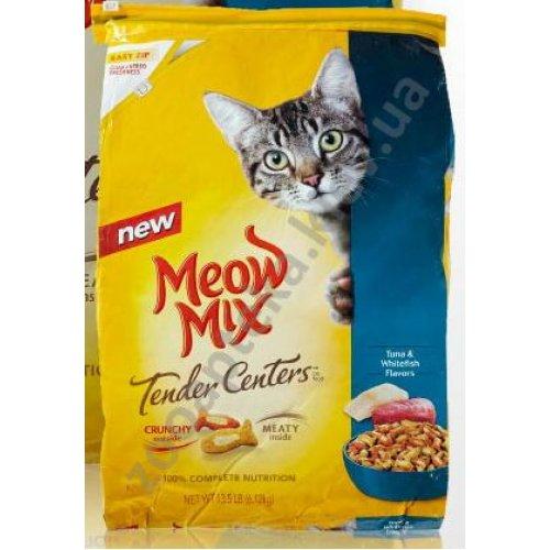 Meow Mix Tender Centers - корм Мяу Микс с тунцом