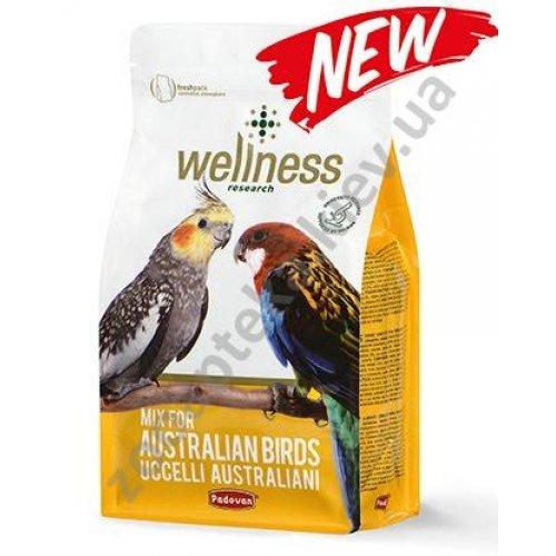 Padovan Wellness Parrocchetti Australian - корм Падован для австралийских попугаев