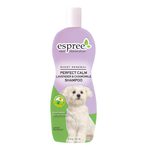 Espreе Perfect Calm Lavender & Chamomile Shampoo - успокаивающий шампунь для собак Эспри