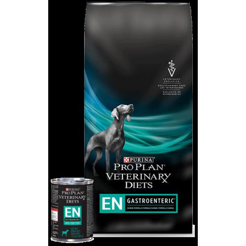 Purina Vet Diets Dog EN - корм Пурина для собак при гастрите, энтерите, панкреатите и гепатите