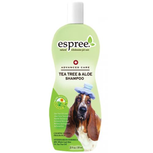 Espree Tea Tree and Aloe Shampoo - шампунь Еспрі лікувальний для собак