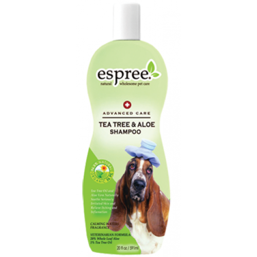 Espree Tea Tree and Aloe Shampoo - шампунь Эспри лечебный для собак