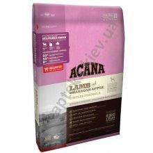 Acana Lamb and Apple Singles Formula - корм Акана для собак гипоаллергенный, с ягненком и яблоками