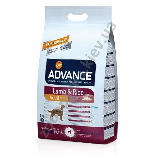 Advance Lamb Rice - корм Едванс з ягням і рисом для собак всіх порід