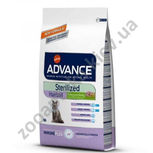 Advance Sterilized Hairball - корм Эдванс для стерилизованных домашних кошек