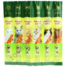 Allegro Cat - мясные колбаски Аллегро Кет с ягненком и индейкой для кошек