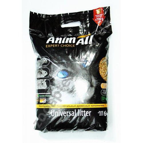 AnimAll - наполнитель ЭнимАл древесный для туалета