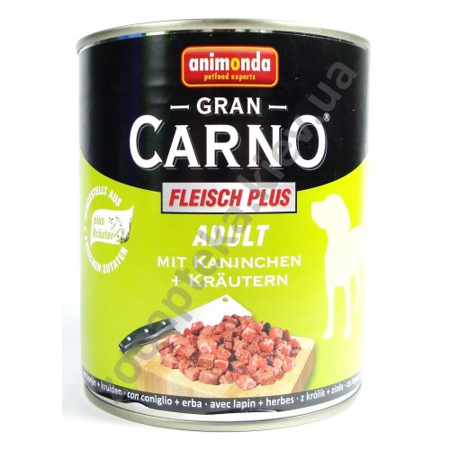 Animonda Adult Carno - консервы Анимонда с кроликом и травами